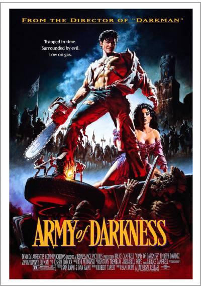 El Ejercito de las Tinieblas (Army of Darkness) - Poster Laminado