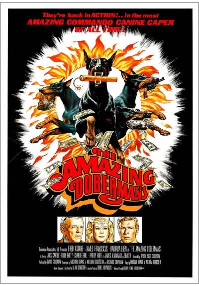 Los Impresionantes Dóbermans (The Amazing Dobermans) - Poster Laminado