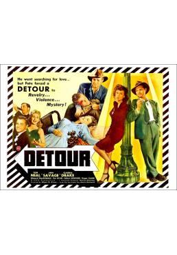 El Desvío (Detour) - Poster Laminado
