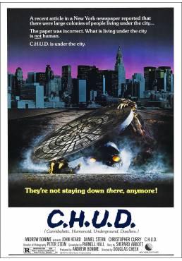C.H.U.D. - Caníbales Humanoides Ululantes Demoníacos (C.H.U.D.) - Poster Laminado