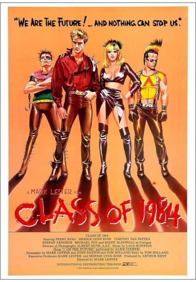 Curso del 1984 (Class of 1984) - Poster Laminado