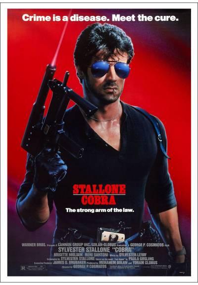 Cobra, El Brazo Fuerte de la Ley (Cobra) - Poster Laminado