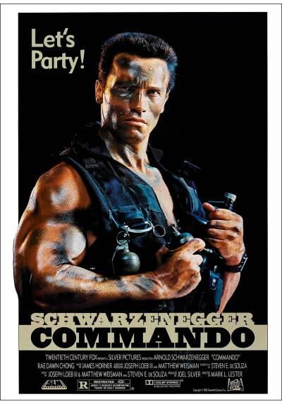 Commando - Poster Laminado
