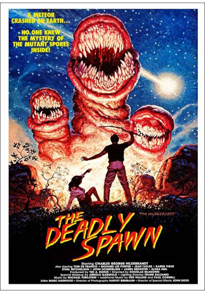 Criaturas asesinas (The Deadly Spawn) - Poster Laminado