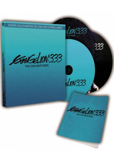 Evangelion 3.33 You Can (Not) Redo (Blu-Ray + Dvd + Extras) (Contiene libro)