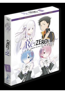 Re:Zero: Empezar de nuevo en un mundo diferente - Parte 1 (Blu-Ray)