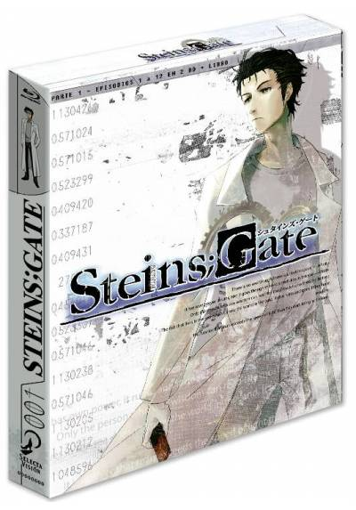 Steins Gate Temporada 1 Parte 1 (Blu-ray)