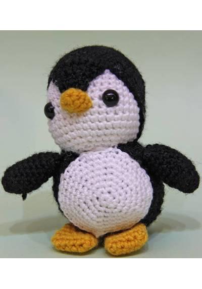 Pingüino Negro (Amigurumis)