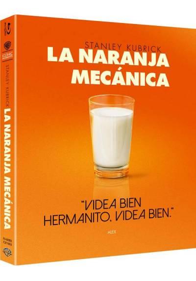 La Naranja Mecánica (Blu-Ray) (Ed Iconic) (A Clockwork Orange)