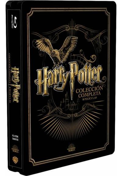 Pack Harry Potter - Saga Completa (Steelbook) (Ed Metálica)  -  (Blu-ray)