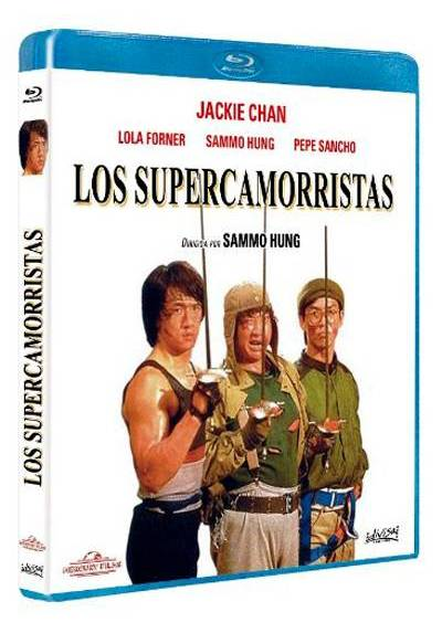 Los Supercamorristas (Blu-ra) (Kuai can che) (Wheels on Meals)