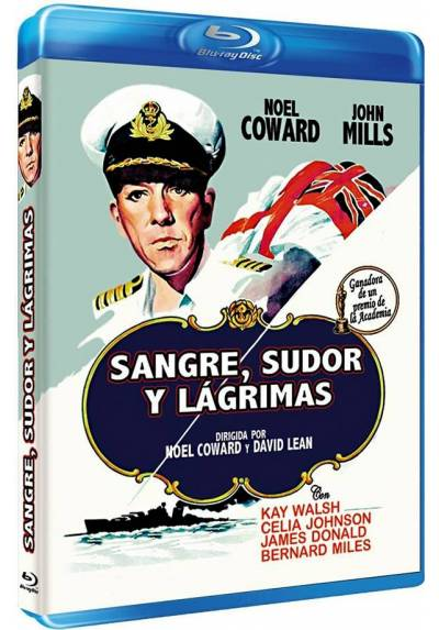 Sangre, Sudor Y Lagrimas (Blu-ray) (In Which We Serve)