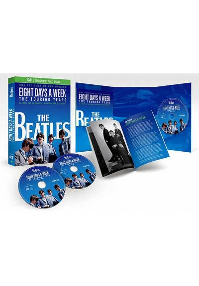 The Beatles: Eight Days a Week - The Touring Years  (Edición Especial Deluxe: 2 DVD + Libreto 64 pág.)
