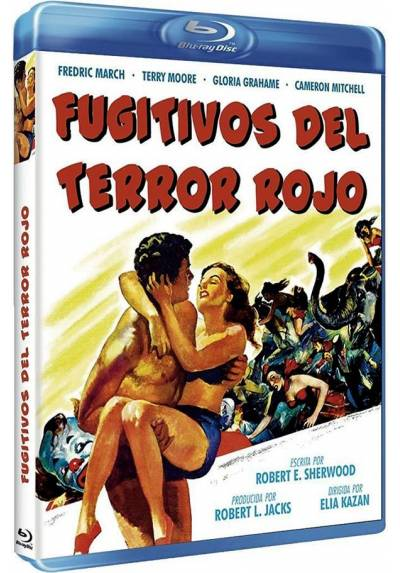 Fugitivos del terror rojo (Blu-ray) (Man on a Tightrope)