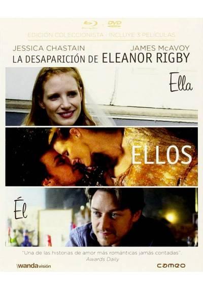 La desaparición de Eleanor Rigby: Ellos, Ella y El (Blu-ray+ DVD) (The Disappearance of Eleanor Rigby: Them, She, Him)