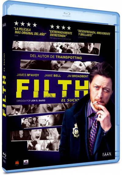 Filth, el sucio (Blu-ray) (Filth)