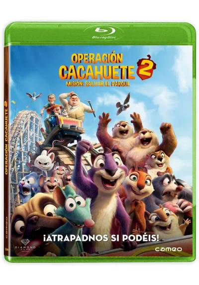 Operación Cacahuete 2. Misión: Salvar el parque (Blu-ray) (The Nut Job 2: Nutty by Nature)