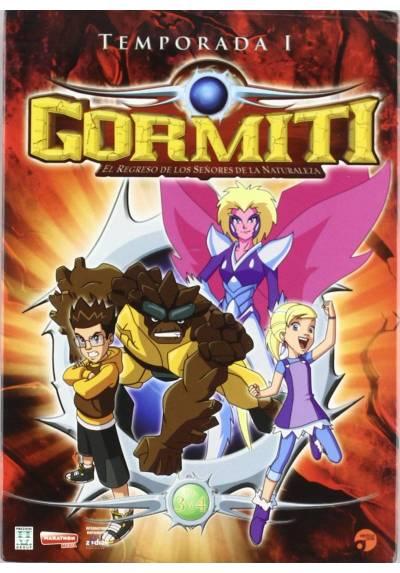 Gormiti: El Regreso de los Señores de la Naturaleza - Temporada 1 Vol. 3 y 4