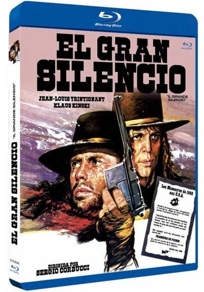 El gran silencio (Blu-ray) (Il grande silenzio)