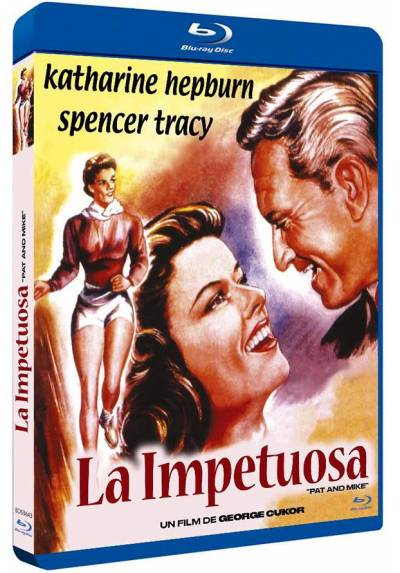 La impetuosa (Blu-ray) (Pat and Mike)