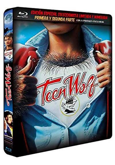 Teen Wolf (De Pelo En Pecho I y II) (Blu-Ray) (Ed. Metalica Numerada y Limitada con 8 Postales)