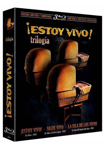 Trilogia Estoy Vivo (Blu-ray) (Digipack Edición Limitada y Numerada con 8 Postales)(It´s Alive)