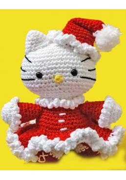 Hello Kitty Navideña (Amigurumis) Especial Navidad