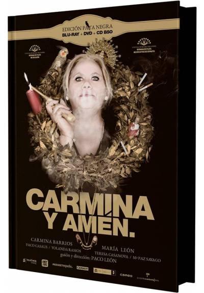 Carmina y amén. (Ed Pata Negra - Blu-Ray + DVD + B.S.O.)