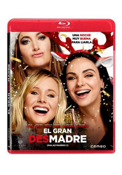 El gran desmadre (Malas madres 2) (Blu-ray) (A Bad Moms Christmas)