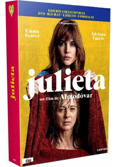 Julieta - Ed. Especial (Blu-ray + DVD + 5 Postales)