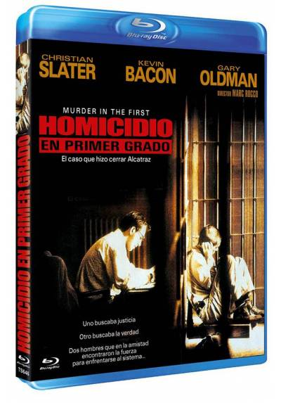 Homicidio en primer grado (Blu-ray) (Murder in the First)