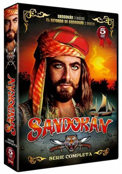 Pack Sandokán: Sandokán + El Retorno de Sandokán (Serie Completa)