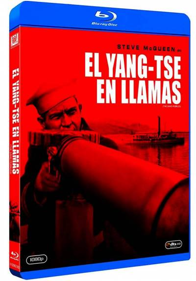 El Yangtsé en llamas (Blu-ray) (The Sand Pebbles)
