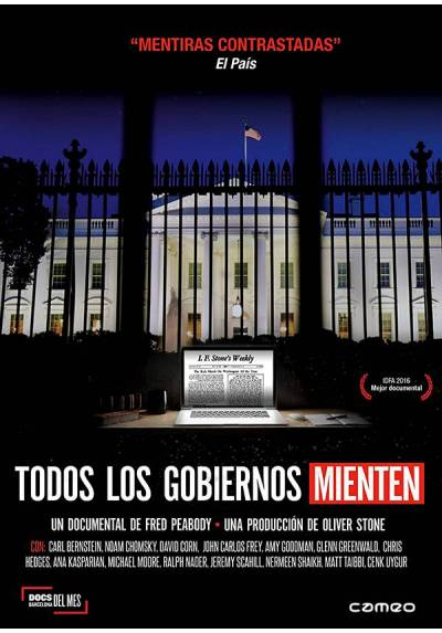 Todos los gobiernos mienten (V.O.S) (All Governments Lie: Truth, Deception, and the Spirit of I.F. Stone)