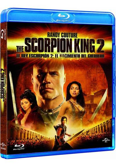 El Rey Escorpión 2: El nacimiento de un guerrero (Blu-ray) (The Scorpion King: Rise of a Warrior) (The Scorpion King 2)