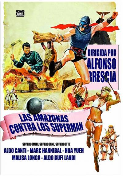 Las Amazonas contra los Supermen (Superuomini, superdonne, superbotte)