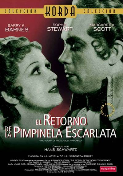 El retorno de la Pimpinela Escarlata (Return of the Scarlet Pimpernel)