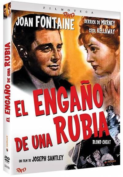 Filmoteca RKO: El Engaño De Una Rubia (Blond Cheat) - Ed. Especial (Incluye Libreto Exclusivo De 24 Páginas)