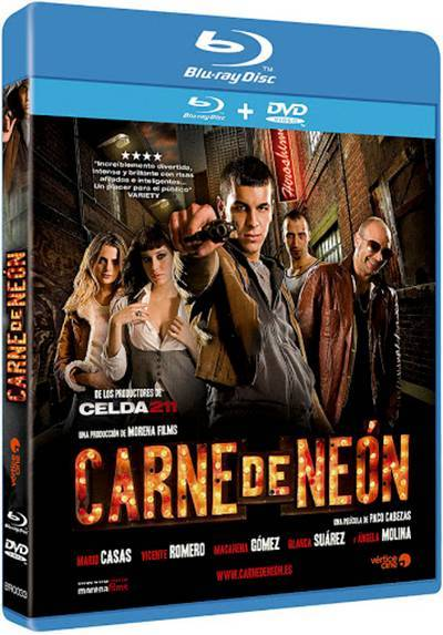 Carne de neón (Blu-ray + DVD)