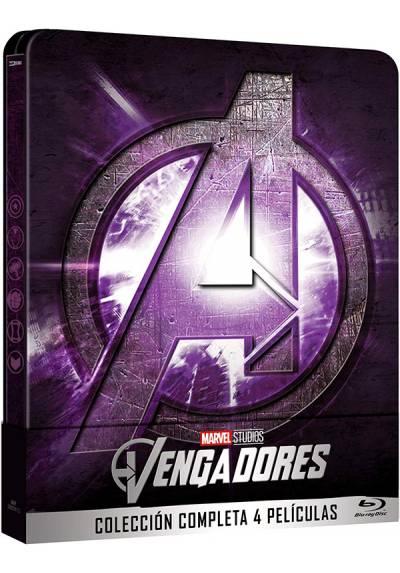 Pack Vengadores (Blu-ray) (Steelbook 1-4) + Disco bonus