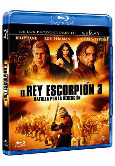 El Rey Escorpión 3: Batalla por la redención (Blu-ray) (The Scorpion King 3: Battle for Redemption)