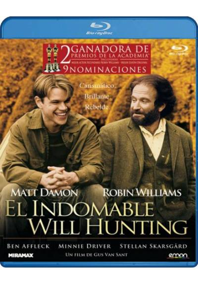 El Indomable Will Hunting (Blu-Ray)
