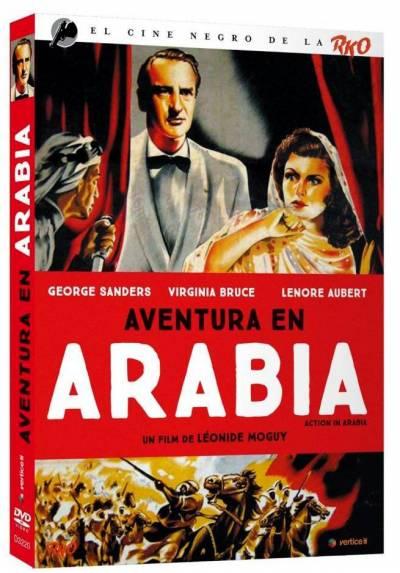 El cine negro de la RKO: Aventura en Arabia (Action in Arabia) (Ed. Especial con Funda y Libreto 24 Paginas)