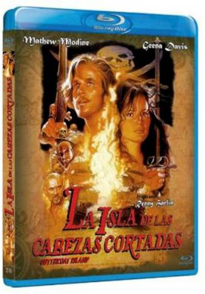 La isla de las cabezas cortadas (Blu-ray) (Bd-R) (Cutthroat Island)