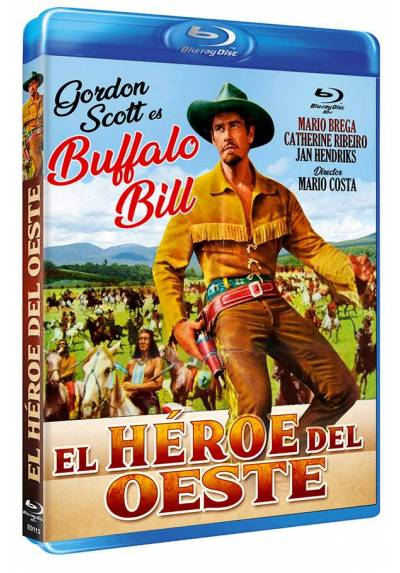 El héroe del Oeste (Blu-ray) (Bd-R) (Buffalo Bill, l'eroe del far west)