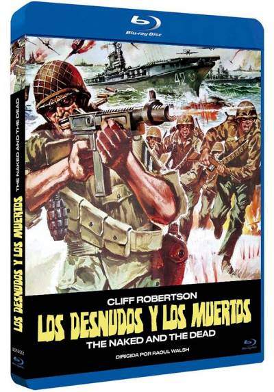 Los desnudos y los muertos (Blu-ray) (The Naked and the Dead)