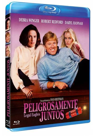 Peligrosamente juntos (Blu-ray) (Legal Eagles)