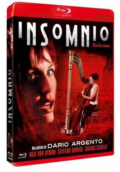 Insomnio (Blu-ray) (Non ho sonno)
