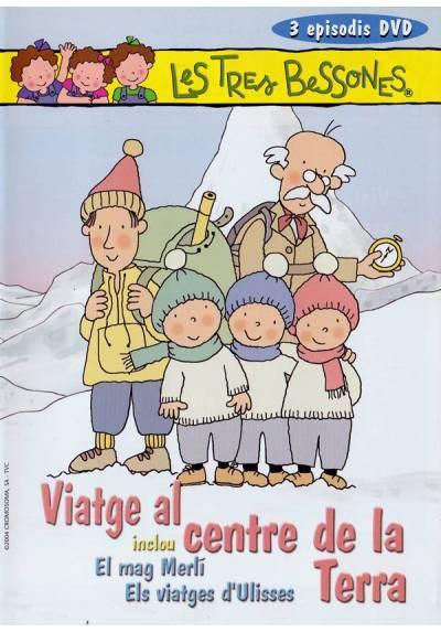 Les Tres Bessones: Viatge al centre de la terra (Ed. Catalana)