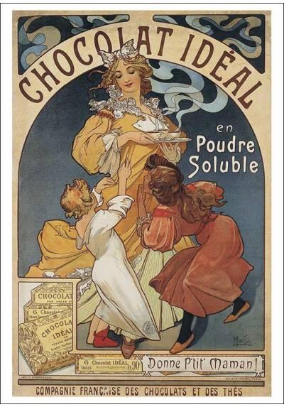 Chocolat Ideal - Alfons Mucha (POSTER 32x45)